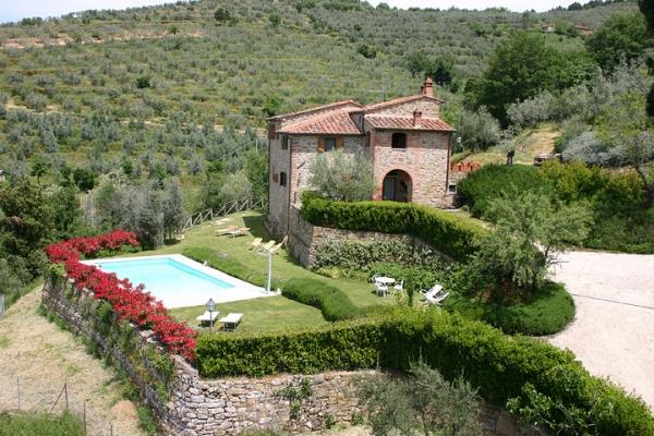 Villa La Guardia with swimming pool