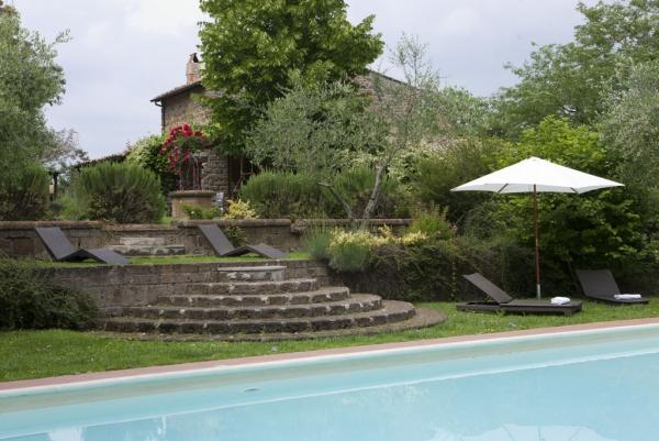 Villa Vitorchiano (Private villa with pool; sleeping 8)
